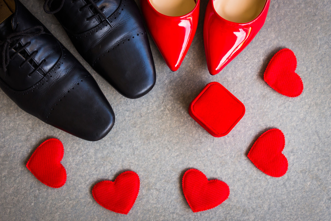 How to get your shoes ready for Valentine's Day