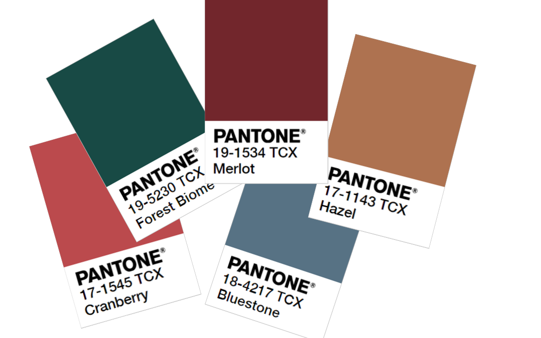 Fall Color Trends 2020.Autumn Winter Pantone Colors 2019 2020 Tarrago