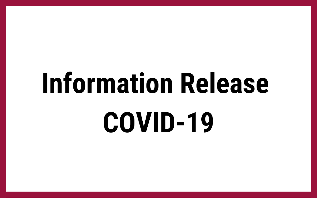 Information Release COVID-19