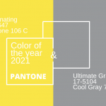 Colors of the Year 2021: Ultimate Gray and Illuminating Yellow
