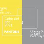 Colores del Año 2021: Pantone Illuminating Yellow y Ultimate Gray